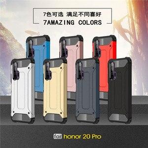 Image 5 - Huawei 社の名誉 20 プロケースソフト TPU シリコーン鎧 Pc 電話ケース Huawei 社の名誉 20 プロカバーのための 20 プロ