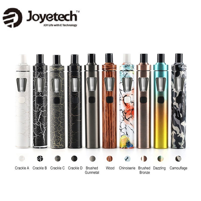 Original joyetech ego AIO vape kit con 1500 mAh batería y 0.6ohm evaporador todo-en-uno de kit de Inicio de cigarrillos vs stick V8 Kit