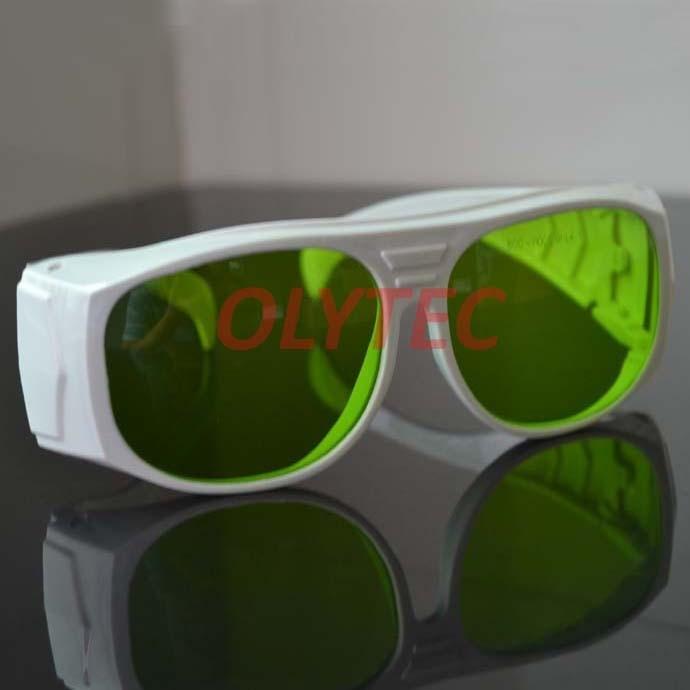 laser safety glasses for wavelengths 800-1100nm IR L4 CE 808nm 980nm and 1064nm lasers 808nm 1064nm and 10600nm laser safety glasses high transmittance 65% o d 5 6