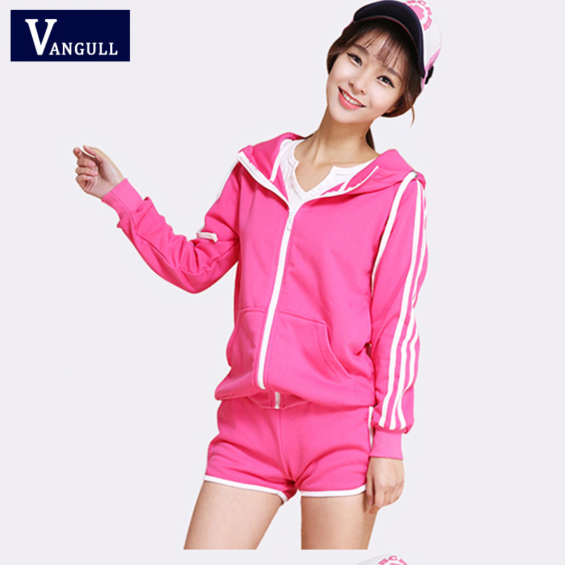 New fashion autumn womens vs love pink suits high quality cotton tracksuit tops hoodie sweatshirt n pants 2 piece sets for women