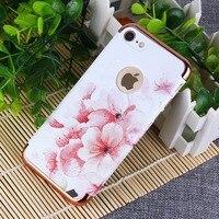 Mode De Luxe Mince Dur TPU Caoutchouc Gel Housse En Silicone Pour iPhone 7 8 Plus