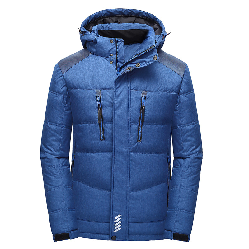 Mens Hooded Duck   Down   Jackets Man Thick Winter   Down     Coats   Male Quality Thick Parka Overcoats Jacket Warm Outerwear Snow   coat