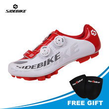 SIDEBIKE Athlet Cycling Shoes Men MTB Mountainbike Shoes Bicycle Self Locking Sapatilha Ciclismo Mtb Scarpe Ciclismo