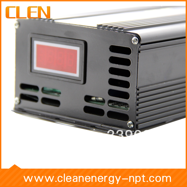 12V/24V 15A Voltage switchable battery charger has Full isolated design and dual power management