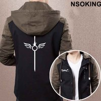 2017 New Spring Autumn Devil May Cry 5 Hoodie Fashion DMC Dante Cool Coat Men Zipper