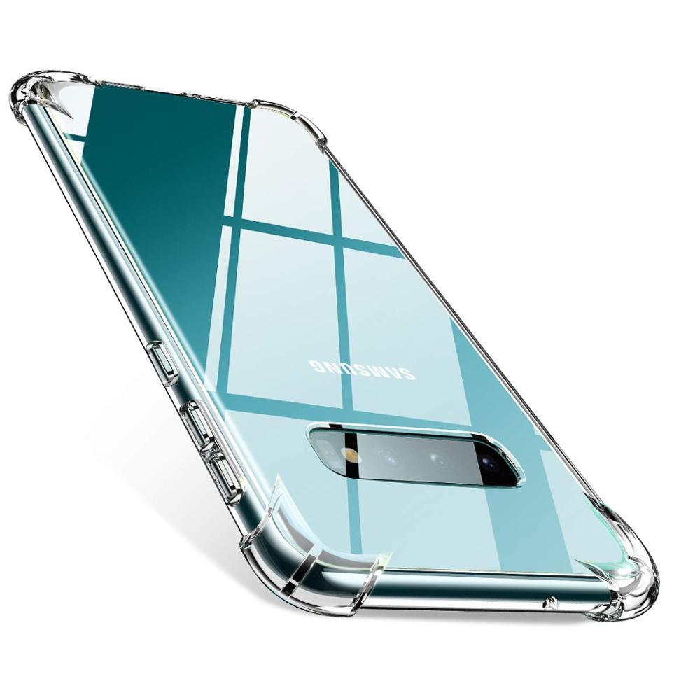 FD New Soft TPU Drop-proof Cases For Samsung A50 A30 A20 A10 A60 A70 Case Transparent Cover For S10 S8 S9 Plus M30 M20 M10 Case