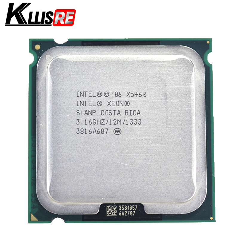 Intel Xeon X5460 Processor 3.16GHz 12M 1333Mhz CPU Works On LGA 775 Motherboard(China)