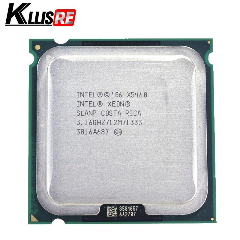 Intel Xeon x5460 3.16 ГГц 12 м 1333 мГц Процессор работает на LGA775 плата