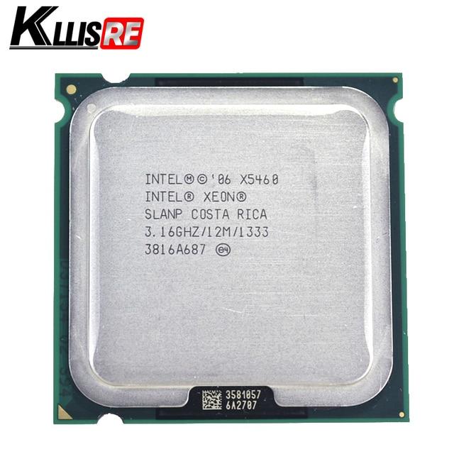 Intel Xeon x5460 Işlemci 3.16 GHz 12 M 1333 Mhz CPU üzerinde çalışır LGA 775 anakart