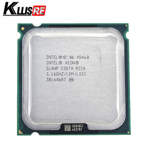 Intel x5460 3.16 GHz 12 M 1333 Mhz CPU works on LGA 775 motherboard