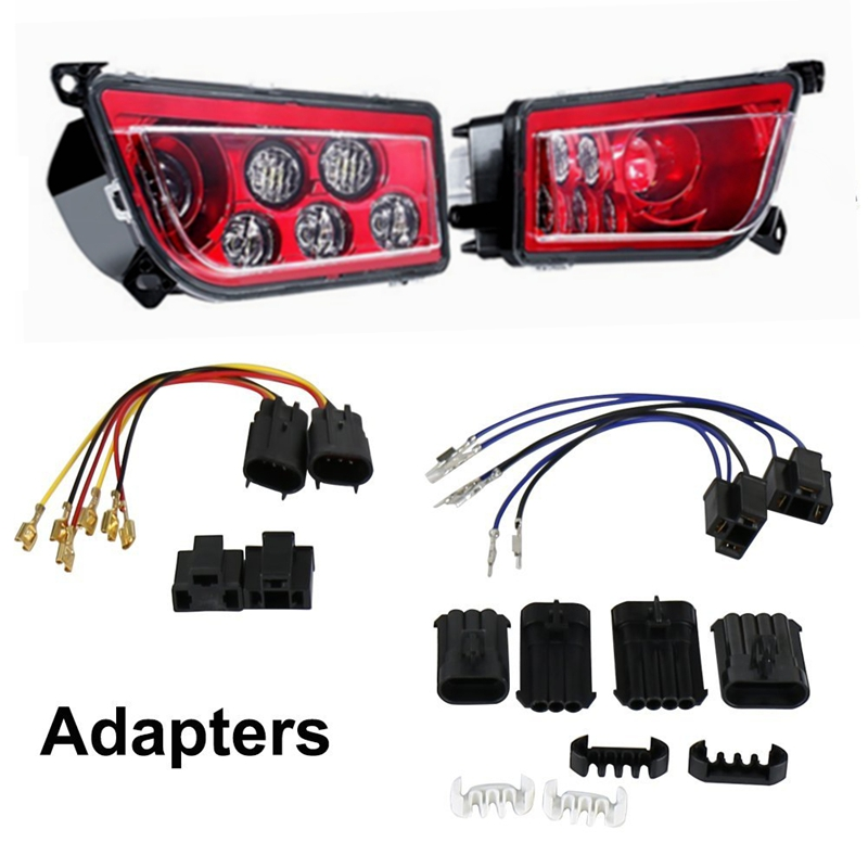ATV LED Headlight kit Headlamp for Polaris Razor Push 1000 RZR headlight ATV light atv запчасти и аксессуары hl xl atv