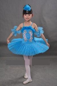 Image 2 - New Arrival Children Ballet Tutu Dress Swan Lake Multicolor Ballet Costumes Kids Girl Ballet Dress for Children