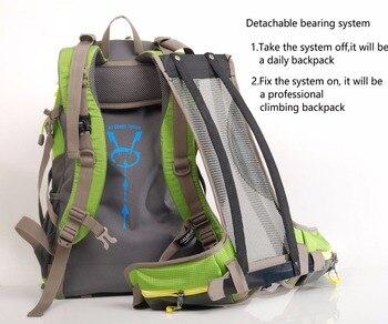 Maleroads Rucksack Camping Hiking Backpack Sports Bag Outdoor Travel Backpack Trekk Mountain Climb Equipment 40 50L Men Women 4