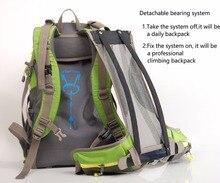 Maleroads Camping Hiking Backpack Bag 40 50L for Men Women