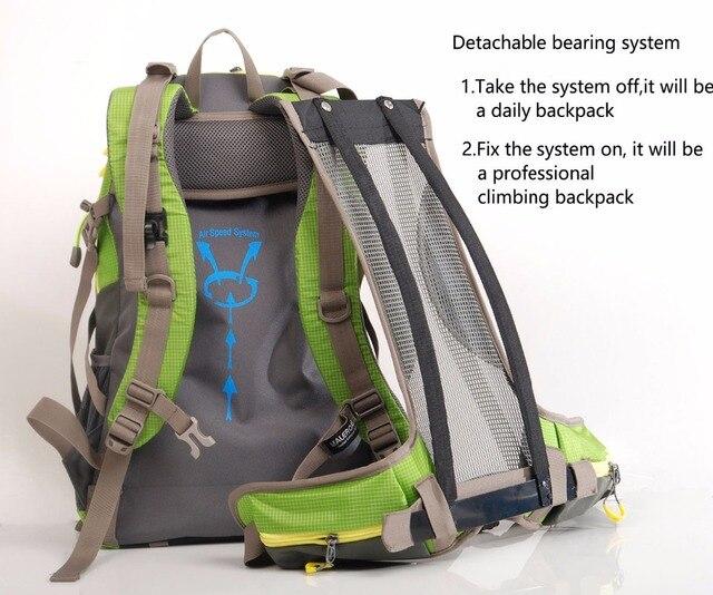 Maleroads Camping Hiking Backpack Sports Bag Travel Trekk Rucksack Mountain Climb Equipment 40 50L for Men Women males Teengers