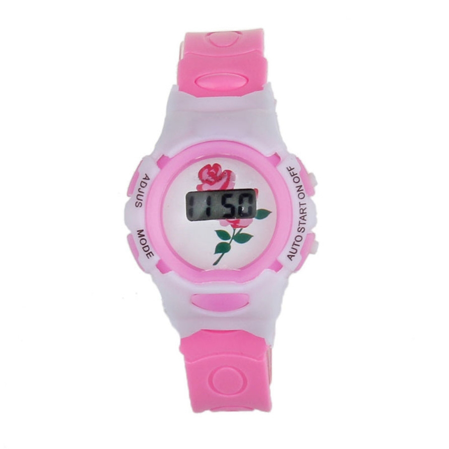 Hot Hothot Sales Colorful Boys Girls Students Time Electronic Digital Wrist Sport Watch Free Shipping at2 Dropshipping LI new fashion design unisex sport watch silicone multi purpose date time electronic wrist calculator boys girls children watch