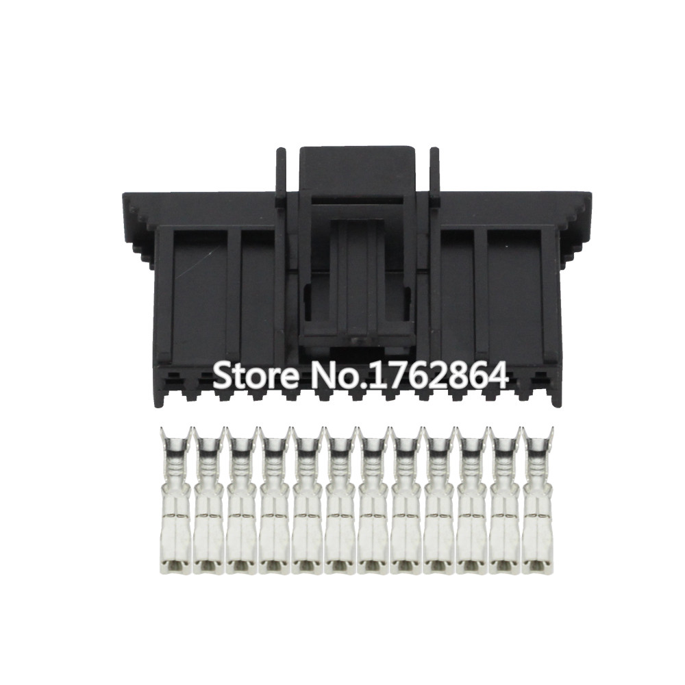 12 Pin female connector With terminal  DJ7122Y 1.5 21 12P car connector|connector female|connector set|connector pin - title=