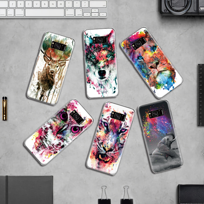 Phone-Case Deer Samsung Galaxy S5 Mini Edge-Plus Note 3 for S4 S6 S7 S8 S9 4-5-8 Doodle