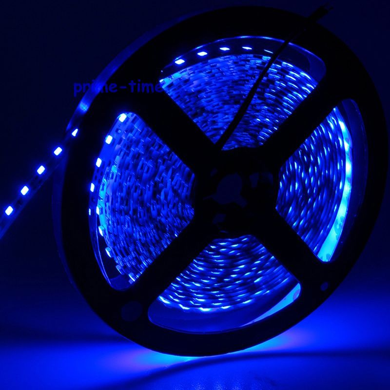 3528 SMD 120 LED / m LED sloksne, 5m 600 LED 12V elastīga gaisma BEZ - LED Apgaismojums - Foto 4