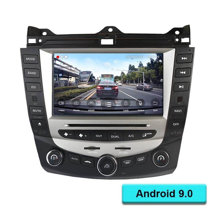 Android 6.0 Quad Core 7 carro dvd player de navegação gps para honda accord 2003-2007 EURO Rádio do carro dupla /única Zona Climática