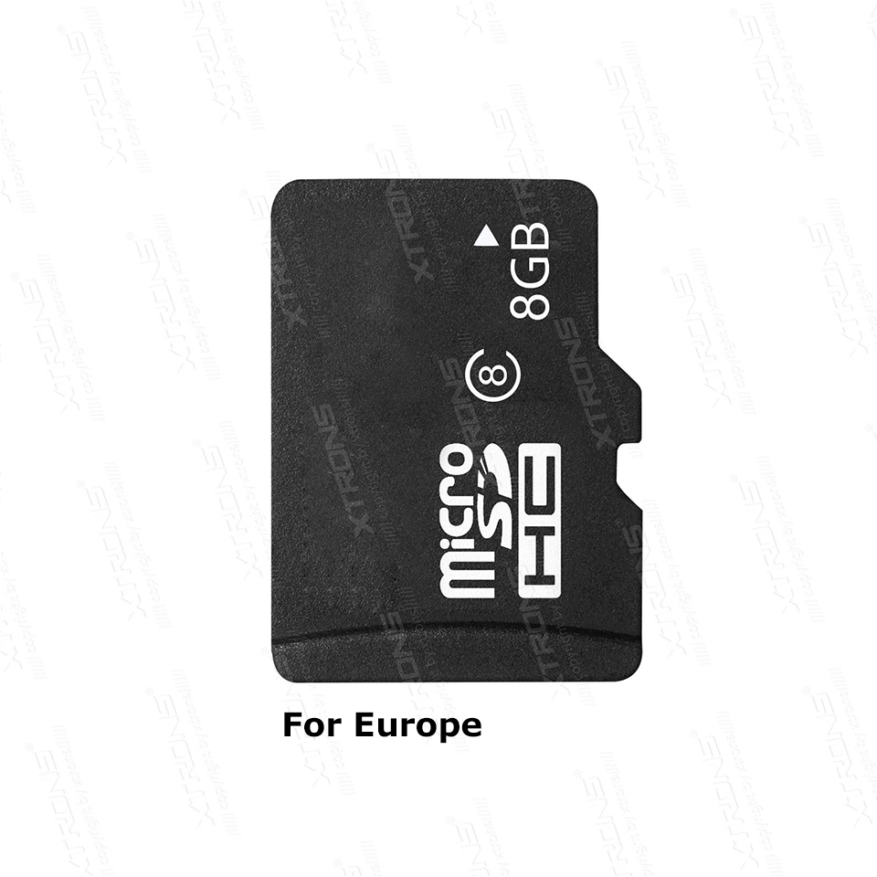 8G Car GPS Map Card For Europe Authorize