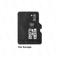 8G Car GPS Map Card For Europe Authorized Multifunctional 3D 2D Auto Kudos Map European Maps 2 Background Convenient Signpost