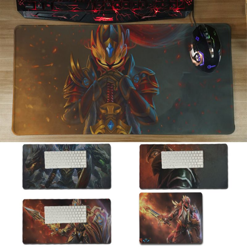 Yinuoda Non Slip PC Dota 2 Dragon Knight Durable Rubber Mouse Mat Pad Size for 18x22cm 20x25cm 25x29cm 30x60cm