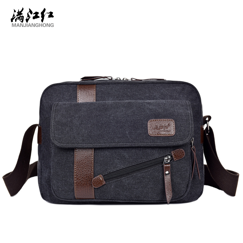 Men Business Bag High Quality Multifunction Men Canvas Bag Casual Travel Bolsa Masculina Men's Crossbody Bag Men Messenger Bags high quality casual men bag