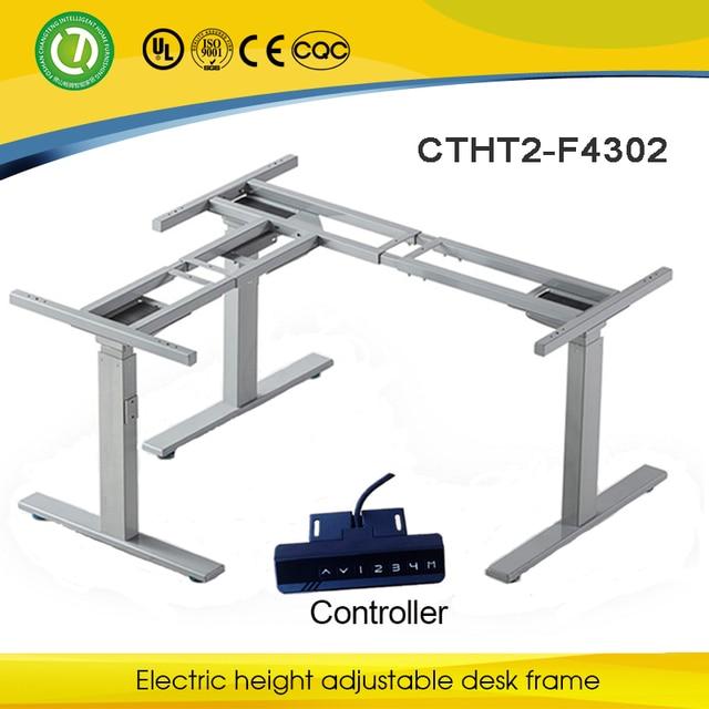 Alibaba Ergonomic Height Adjustable Computer Desk Frame U0026 Adjustable Height  Table Metal Frame U0026 Healthy Stand