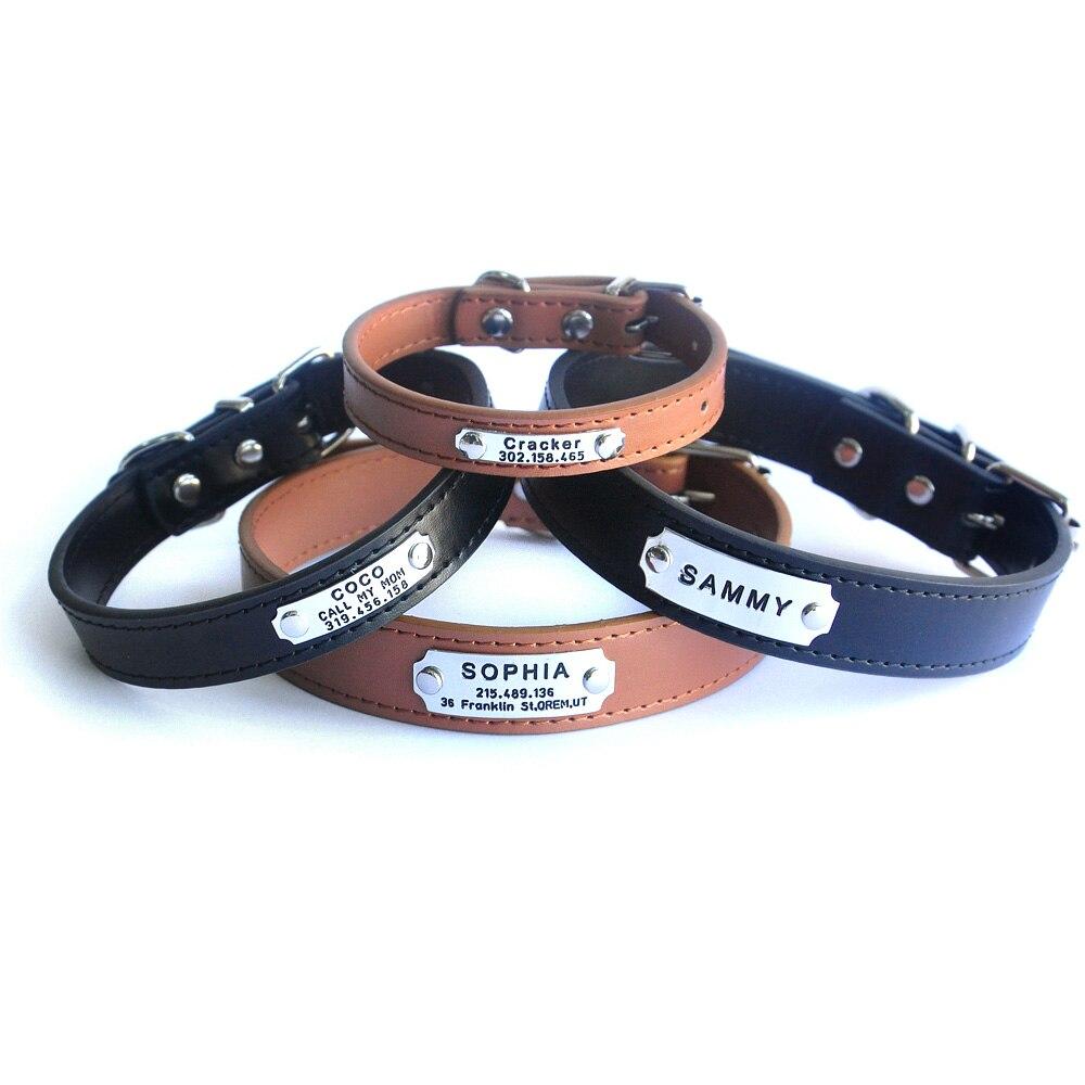 Custom Dog Collar Personalized Dog Collar, Engraved Pet ...