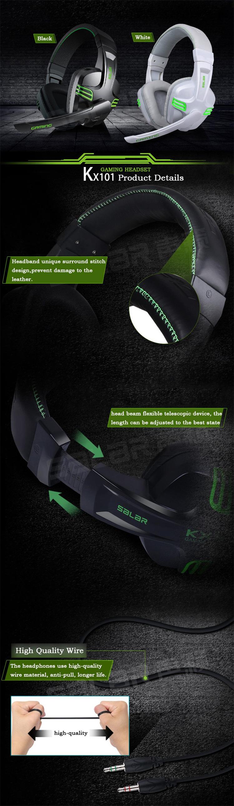 Headphone Gamer SALAR Headset Gamer