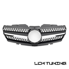 цена на For Mercedes For Benz SL-class R230 2002-2005 with Emblem SL Style Front Bumper Racing Grille