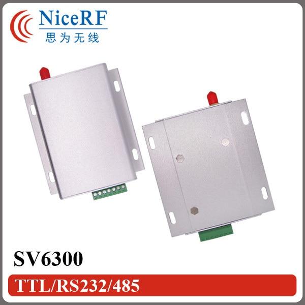 2PCS SV6300 433MHz/470MHz RS485 Interface 3W 6KM Long Distance Industrial Wireless RF Module2PCS SV6300 433MHz/470MHz RS485 Interface 3W 6KM Long Distance Industrial Wireless RF Module