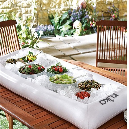 Inflatable Accessories Ice Bar Swan Boias Pool Toys Salad Disk For - Inflatable picnic table