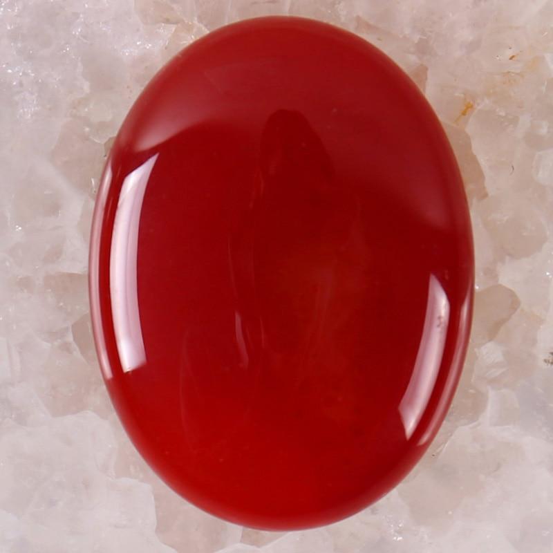 40x30MM Red Carnelian Stone Oval Cabochon CAB GEM Jewelry Making 1PCS H088