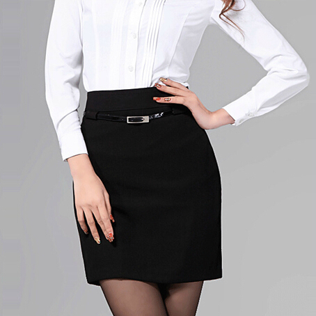 Aliexpress.com : Buy Womens Black Formal Skirt Office Ladies Work ...