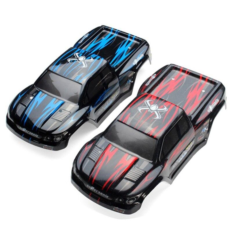 9115 RC Monster Truck RC Car Shell 15-SJ01 15-SJ02 RC Car Body Shell 285*133mm Blue And Red