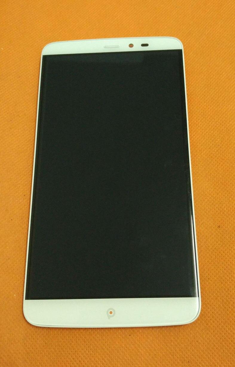 imágenes para Usado Original Pantalla LCD + Pantalla Táctil Del Digitizador + Frame para PPTV PP Rey 7 PP6000 MTK6795 6.0 pulgadas 2560x1440 Envío gratis