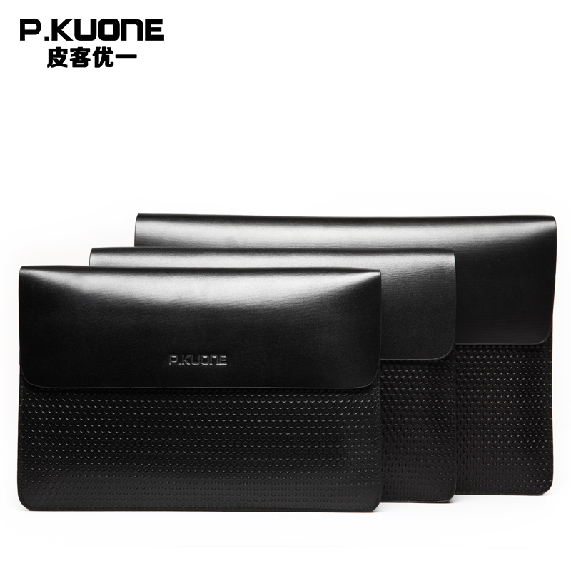 P.KUONE Genuine Leather Clutch Bag 2018 Fashion high quality Top men Wallets Luxury Brand Purse Messenger handbag Long wallet цена 2017
