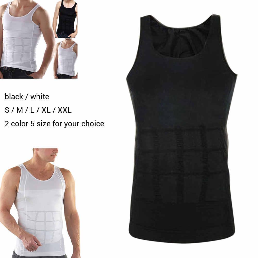 Männer Unterhemd Enge Abnehmen Körper Shapewear Weste Hemd Abs Bauch Schlank Bauch Bauch Shaper Unterwäsche