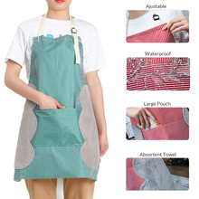Bib Apron Kitchen Adjustable Waterproof Oil-free with Handtowel Home Cooking Cleaning Tools Gadgets Accessories