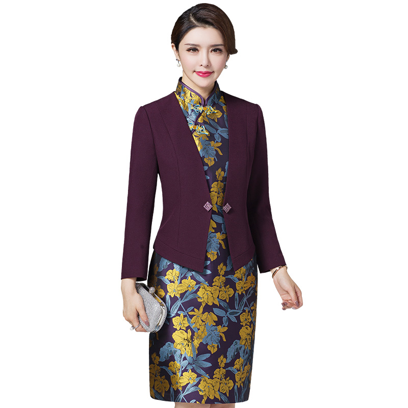 2 Pieces High Quality Free Shipping New Mom Two Sets Fashion Mid Aged Women Clothing Plus Size Women Work Wear Fashion
