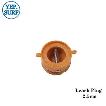 Surf Leash Plug Diameter 2.5cm leash Plugs Orange