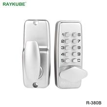 RAYKUBE Digital Passwort Türschloss Mechanische Code Keyless Entry Türschloss Wasserdicht R 380B