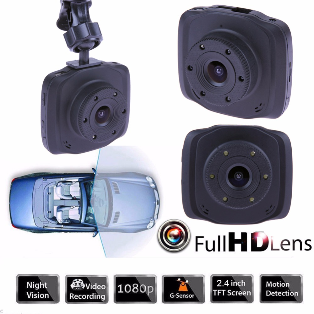 2.4 FHD 1080P Car DVR Camera Digital Video Recorder Dual Lens Wifi Dash Cam G-sensor Automobiles Driving Dashcam Camcorder
