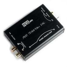 LEMHU muse Hi-Fi Fiebre DAC DIR9001 TDA1543 conexión paralela nos DAC Plata