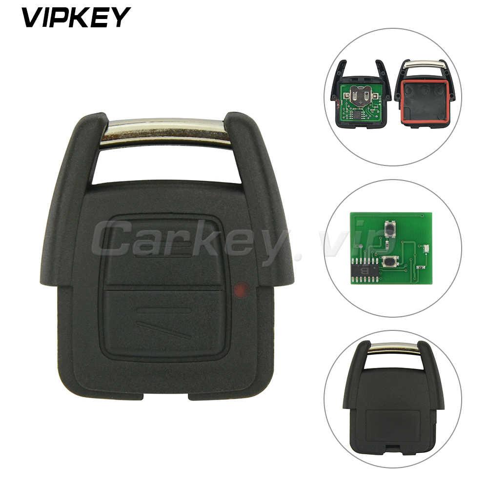 Télécommande 93176615 voiture clé fob 2 bouton 433Mhz pour Opel Vauxhall Holden Astra G Zafira A 2000 2001 2002 2003 2004 voiture clé à distance