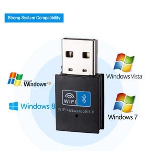 Image 2 - Draadloze Wifi Bluetooth Adapter 150Mbps Usb Wifi Adapter Ontvanger 2.4G Bluetooth V4.0 Netwerkkaart Zender Ieee 802.11b/g/n