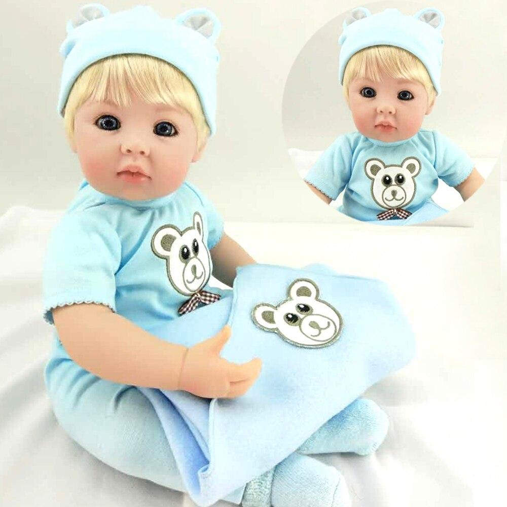 51 cm haut de gamme Silicone vinyle poupées Reborn bébés adorable vraie touche jumeaux bambin jouet fait à la main enfants cadeau d'anniversaire bébé offre spéciale