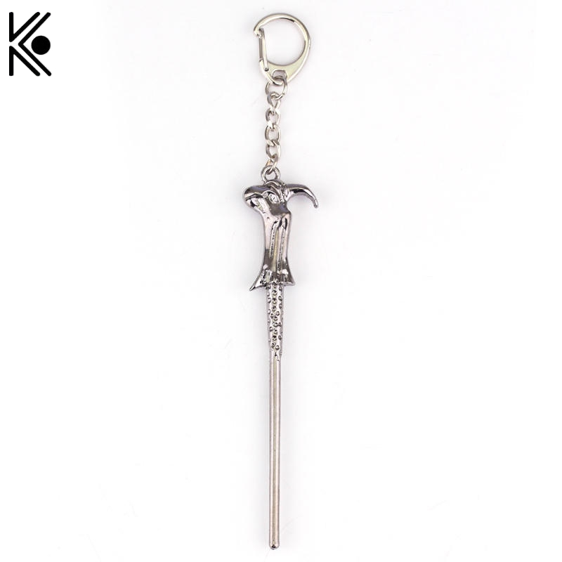 Magic Wand Key Chains Creative Hermione Magic Wand Keyring Movie Pendant jewelry boy&girl best gift